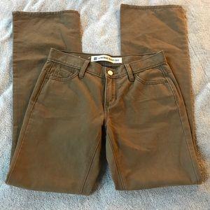 Gap Women's Low Rise Bootcut Pants, size 1